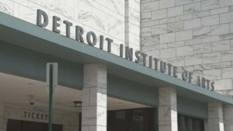En Detroit se plantean vender obras de arte para hacer frente a la quiebra