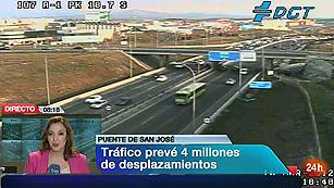 Ver vídeo  'La DGTprevé 4 millones de desplazamientos con motivo del puente de San José'
