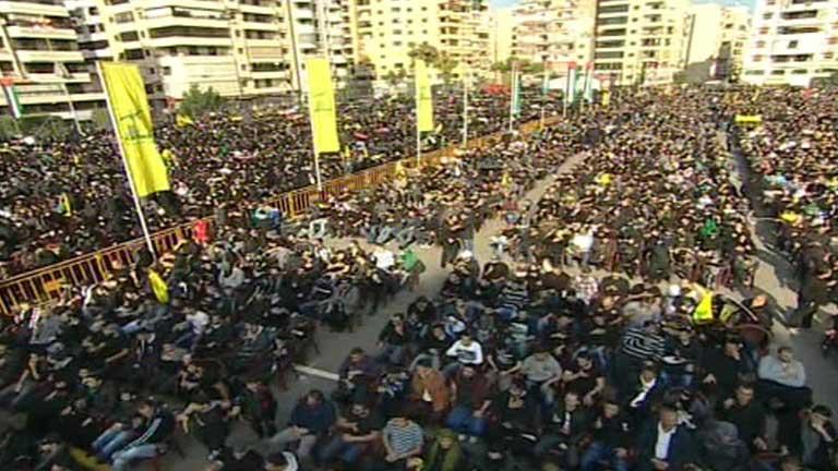 Los musulmanes chiíes celebran el día de la Ashura
