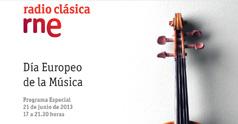 Día Europeo de la Música en Radio Clásica
