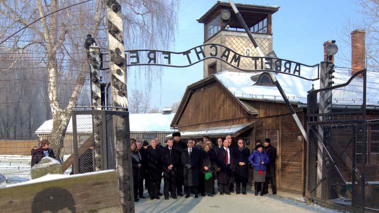 En Berlín, se conmemora el día de recuerdo a las víctimas del Holocausto