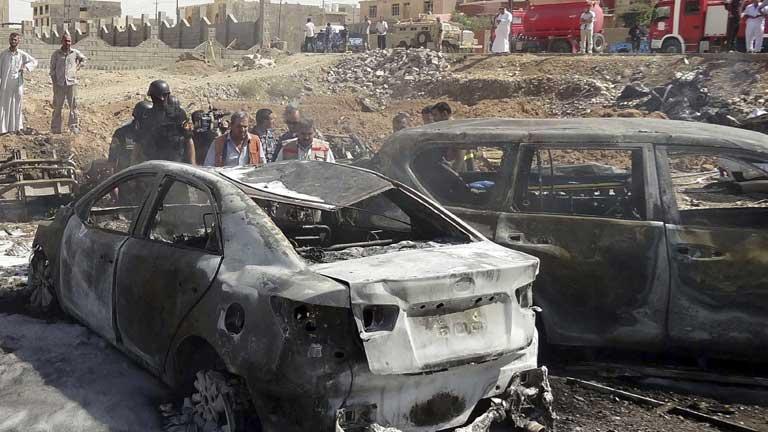 Ola de atentados en Irak con 60 muertos y 250 heridos
