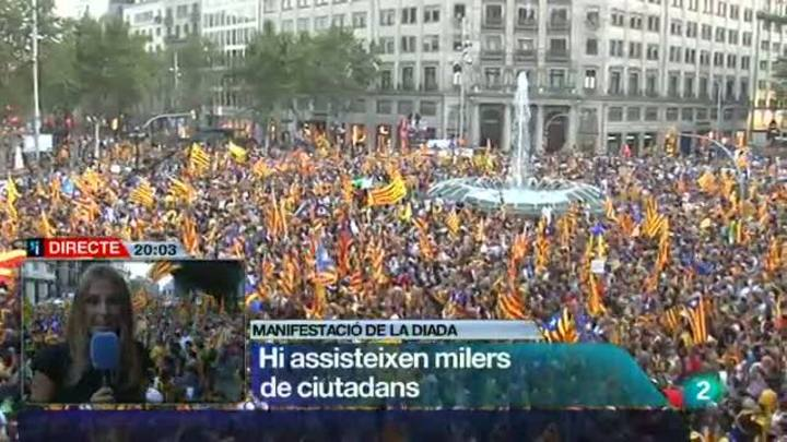 L'informatiu vespre - Diada - 11/09/12