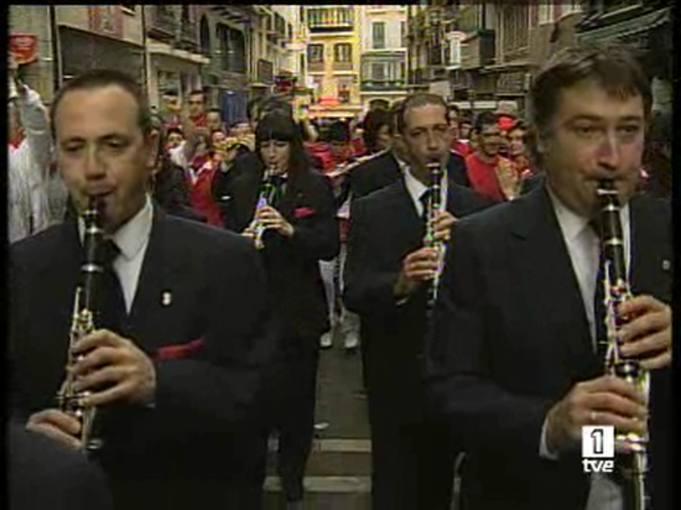 Ver vídeo  'Las Dianas de San Fermín'