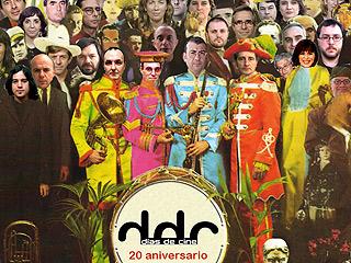Ver vídeo  'Días de cine: Ráfaga conmemorativa de los 20 años con la portada de Sgt. Pepper's, de Los Beatles'