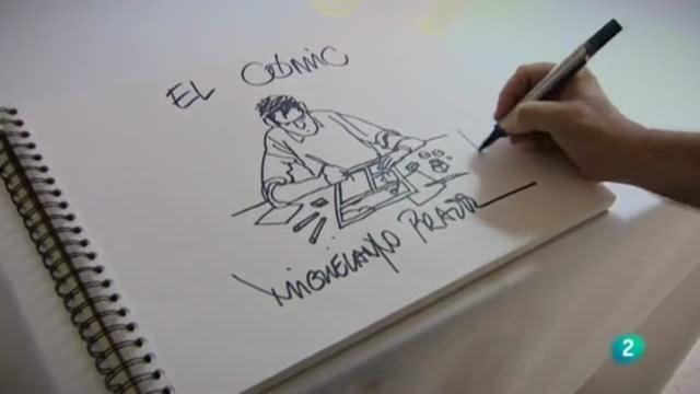Los oficios de la cultura - Dibujante de cómic. Miguelanxo Prado