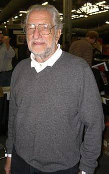 El dibujante Joe Kubert