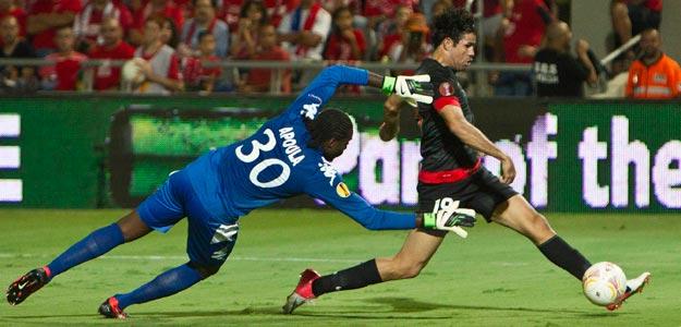 Diego Costa marca en el triunfo del Atlético de Madrid ante el Hapoel Tel Aviv