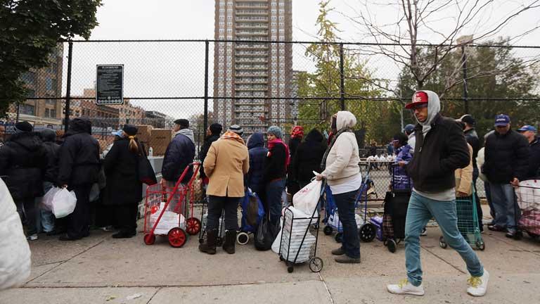 Primeras críticas de los afectados por el huracán Sandy