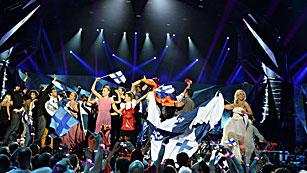 Ver vídeo  'Los diez países que pasan a la final de Eurovisión 2013 desde la segunda semifinal'