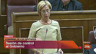 Ver vídeo  'Díez se muestra preocupada por la deriva soberanista de Cataluña'