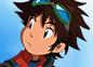 Imagen de un episodio de Digimon Fusión