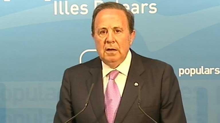 Dimite el delegado del gobierno de Baleares investigado en relación con la trama Gurtel
