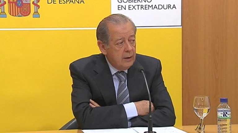 Dimite el delegado del Gobierno de Extremadura por incompatibilidades
