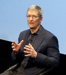 TIM COOK TO SUCCEED STEVE JOBS