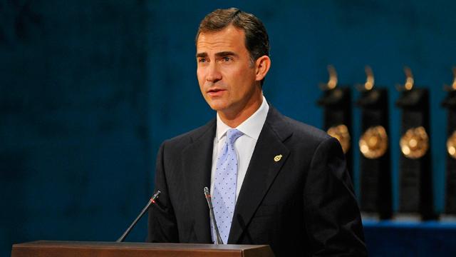 Discurso del Príncipe de Asturias