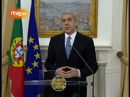 Ver vídeo  'Discurso íntegro del Primer ministro portugués José Socrates'