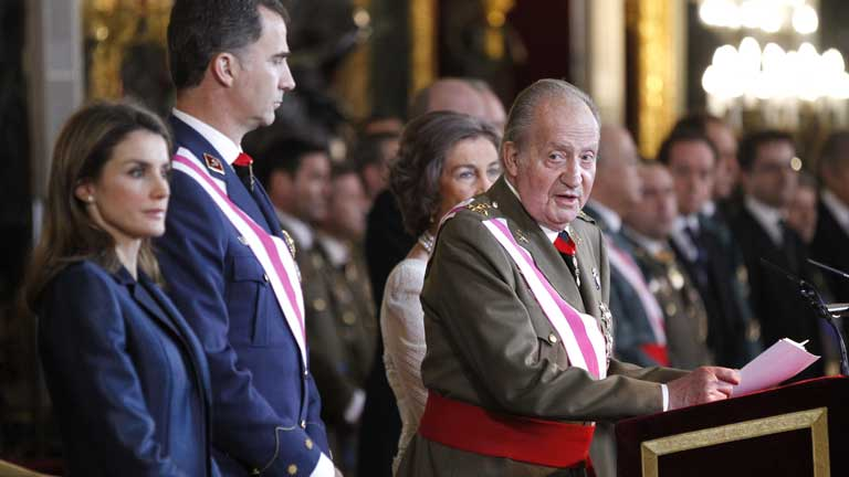 Discurso íntegro del rey en la Pascua Militar