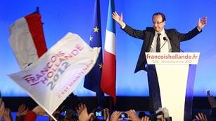 Ver vídeo  'Discurso íntegro de Hollande tras su victoria electoral'
