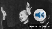 Discursos de Eva Perón y Franco en 1951