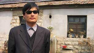 Ver vídeo  'El disidente Chen se convierte en un tema incómodo entre EE.UU y China'