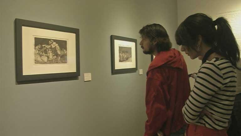 'Los Disparates' de Goya muestran en México la España más oscura