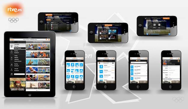 Dispositivos con los que se pueden seguir los JJ.OO. desde RTVE.es