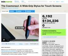 Distintos servicios como 'Kicstarter' permiten dar a conocer y promocionar proyectos de 'crowdfunding'