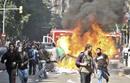 Disturbios en Barcelona durante la huelga general del 29M