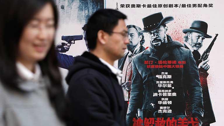 La censura retrasa el estreno de 'Django Desencadenado' en China
