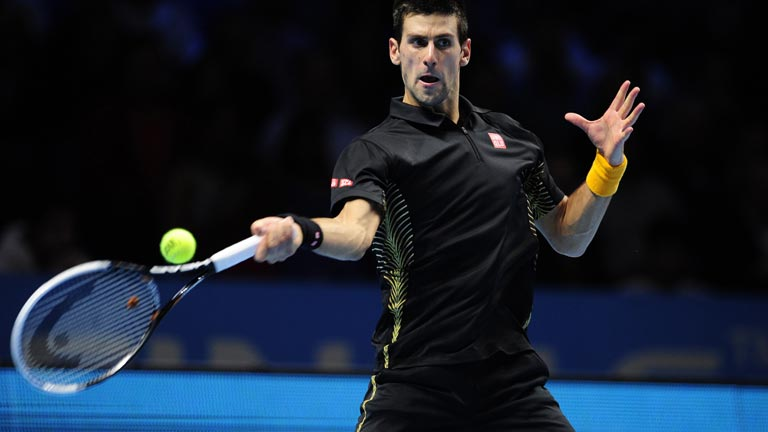 Djokovic, a la final de la Copa Masters