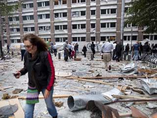 Ver vídeo  'El doble ataque en Oslo deja varios muertos y decenas de heridos'