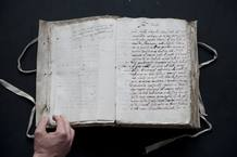 Documento manuscrito por Galileo Galilei