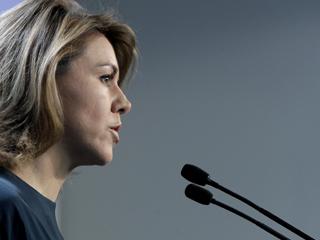Ver vídeo  'Dolores de Cospedal y Javier Arenas presentan el congreso del PP'
