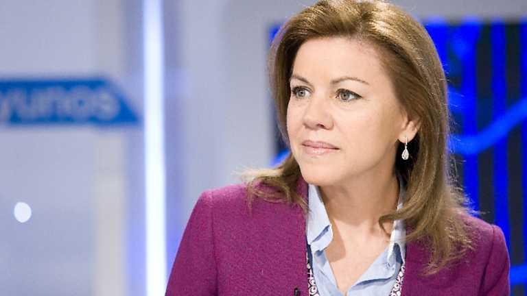 Los desayunos de TVE - Mª Dolores de Cospedal, secretaria general del Partido Popular
