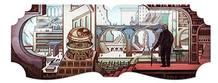 El 'doodle' de Google que homenajea los mundos fantástico de Borges