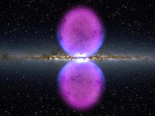 Ver vídeo  'Dos burbujas colosales en la galaxia'