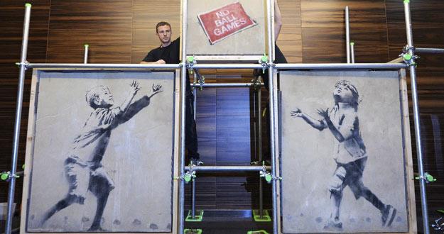 EXPOSICIÓN DEL ARTISTA BRITÁNICO BANKSY EN LONDRES