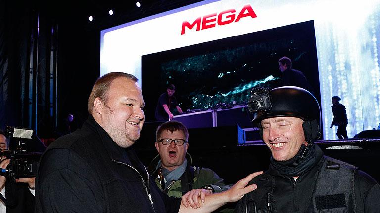 Dotcom lanza su nuevo portal Mega con 50 GB de almacenamiento gratuito