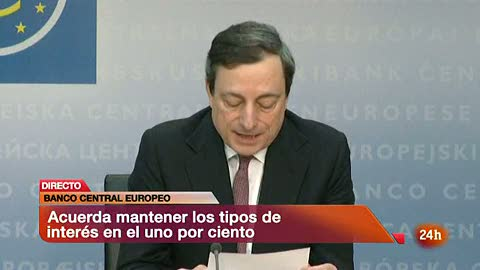 """Ver vídeo  'Draghi pide a los gobiernos compromiso con la disciplina fiscal y """"firmes"""" reformas estructurales'"""