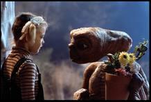 Drew Barrymore y ET