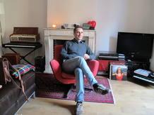 Drexler, en su estudio de Madrid
