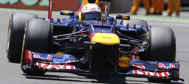 El piloto alemán Sebastian Vettel ha conseguido la 'pole' del GP de Europa, en Valencia.