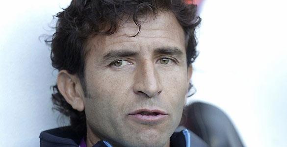 El seleccionador nacional, Luis Milla, durante el partido contra Honduras