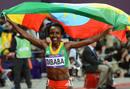 La atleta etíope Tirunesh Dibaba se ha proclamado campeona olímpica de 10.000 metros de los Juegos Olimpicos de Londres. Es la tercera medalla de oro que consigue la etíope, despues de las conseguidas en Pekin 2008, en las pruebas de 5.000 y 10.000 m