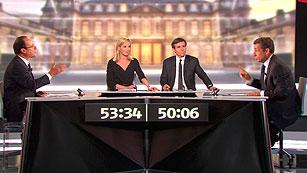 Ver vídeo  'La economia y el papel de Francia en Europa centran el debate entre Sarkozy y Hollande'