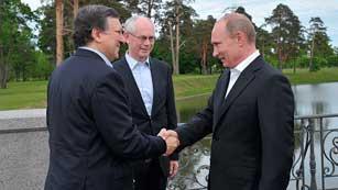 Ver vídeo  'La economía y Siria, en el menú de la cumbre UE-Rusia'