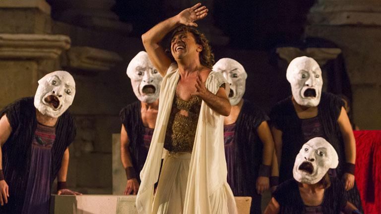 Edipo Rey cierra la edición número 60 del Festival Internacional de Teatro Clásico de Mérida