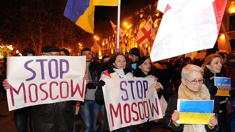 EE.UU. advierte a Ucrania de que no envíe a sus soldados contra los opositores