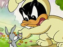 Imagen del  vídeo de Baby Looney Tunes en inglés titulado Eggs-traordinary adventure, Part II